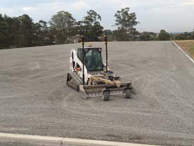 Site levelling Campbelltown